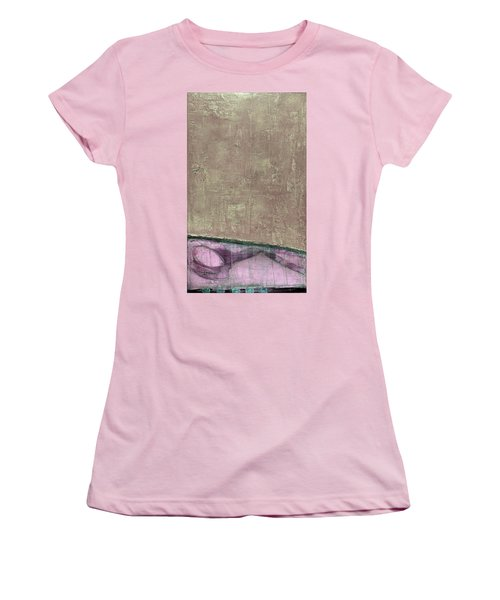 Art Print Abstract 94 Women's T-Shirt (Athletic Fit)