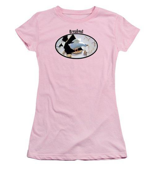 Breakout Women's T-Shirt (Junior Cut) by Phyllis Denton