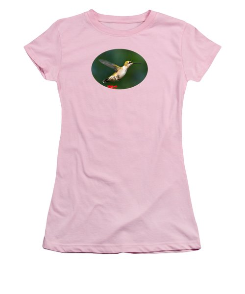Summer Hummingbird Women's T-Shirt (Athletic Fit)
