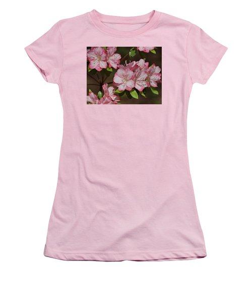 Women's T-Shirt (Junior Cut) featuring the photograph Azalea by Sandy Keeton