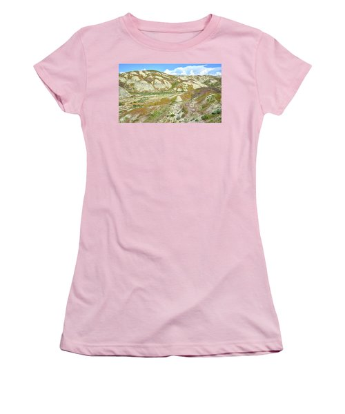 Badlands Of Wyoming Women's T-Shirt (Athletic Fit)