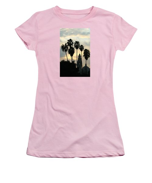 Women's T-Shirt (Junior Cut) featuring the photograph Balboa Park Museum Of Man by Christopher Woods