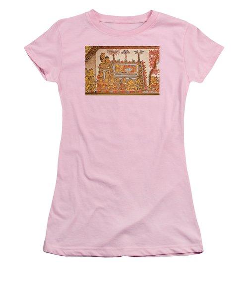 Women's T-Shirt (Junior Cut) featuring the photograph Bali_d530 by Craig Lovell