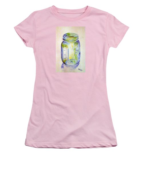 Ball Mason Jar Women's T-Shirt (Athletic Fit)