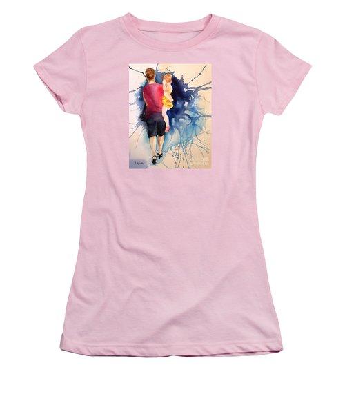 Ballet Mum - Original Sold Women's T-Shirt (Junior Cut) by Therese Alcorn