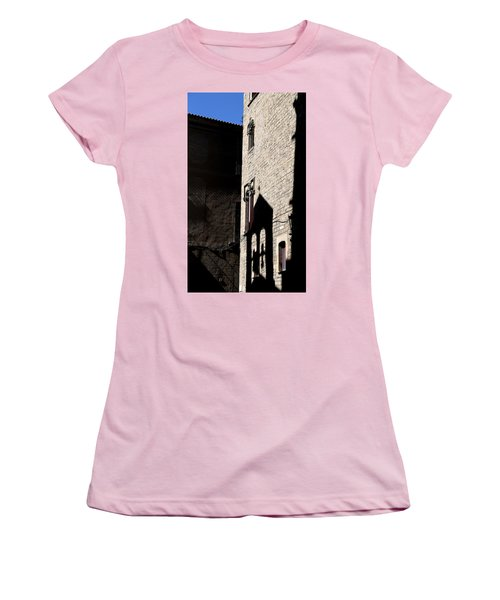 Women's T-Shirt (Junior Cut) featuring the photograph Barcelona 2 by Andrew Fare