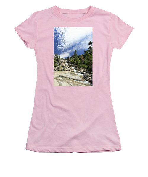 Women's T-Shirt (Athletic Fit) featuring the photograph Bassi Flow by Sean Sarsfield