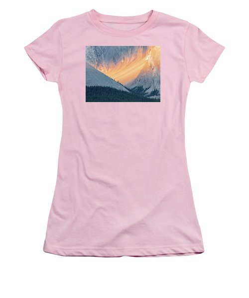 Bathed In Light Women's T-Shirt (Athletic Fit)
