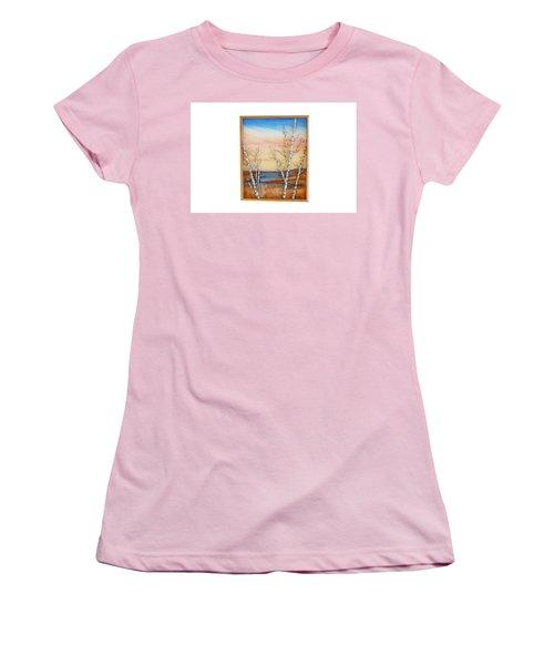 Bay Birch Women's T-Shirt (Athletic Fit)
