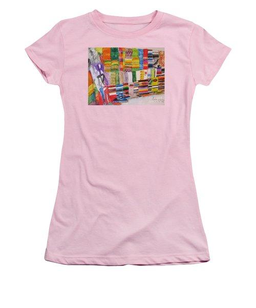 Bazaar Sabado - Gifted Women's T-Shirt (Junior Cut) by Judith Espinoza