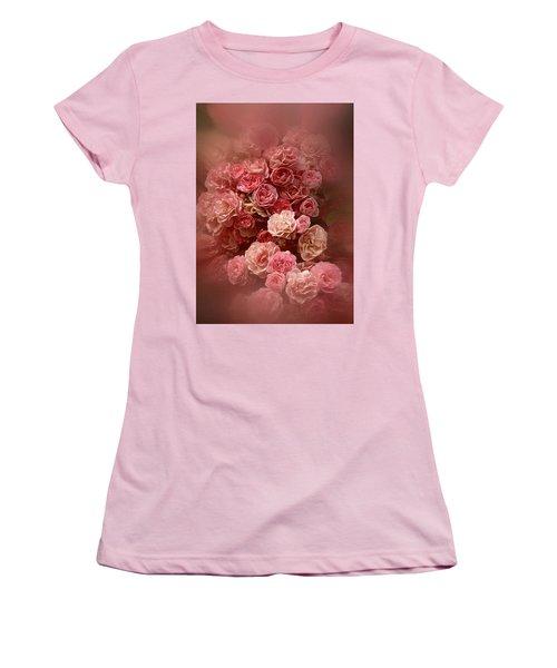 Beautiful Roses 2016 Women's T-Shirt (Junior Cut) by Richard Cummings