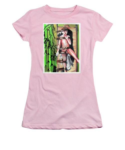 Beautiul Child Like Victum Women's T-Shirt (Athletic Fit)
