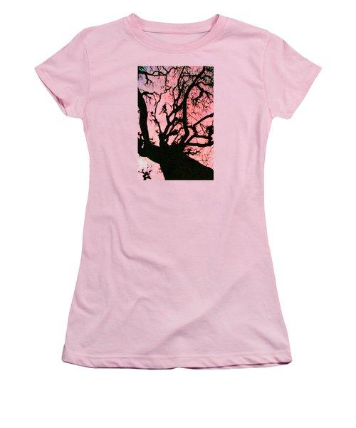 Black Paris Women's T-Shirt (Junior Cut) by Patricia Arroyo