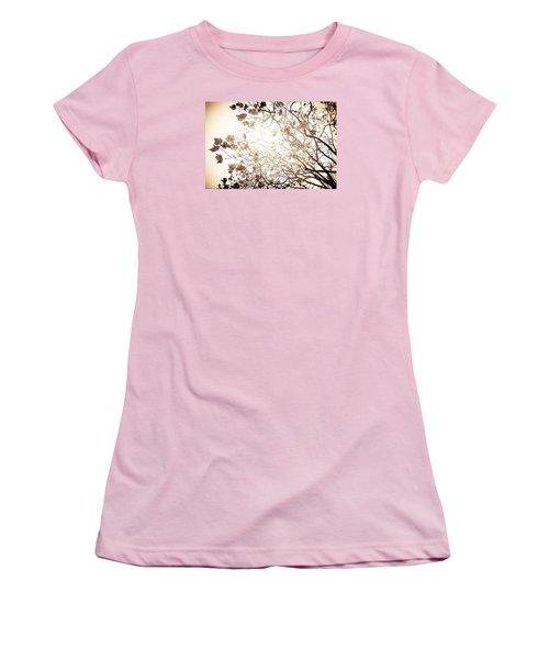Blinding Sun Women's T-Shirt (Athletic Fit)