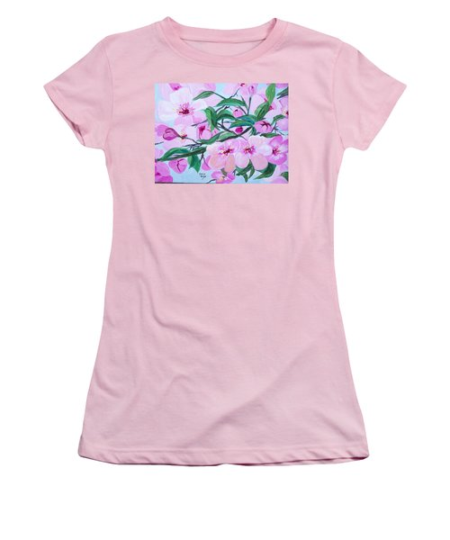 Blossoms Women's T-Shirt (Athletic Fit)