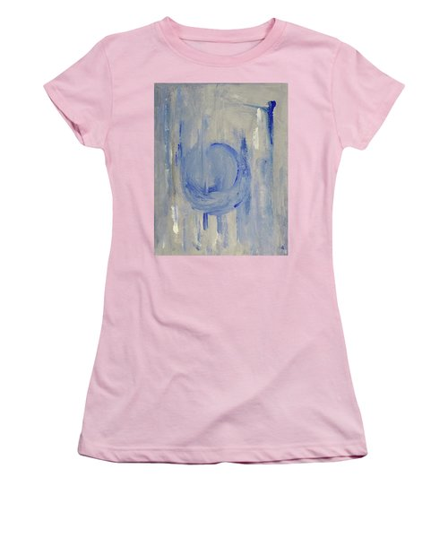 Blue Moon Women's T-Shirt (Junior Cut) by Victoria Lakes