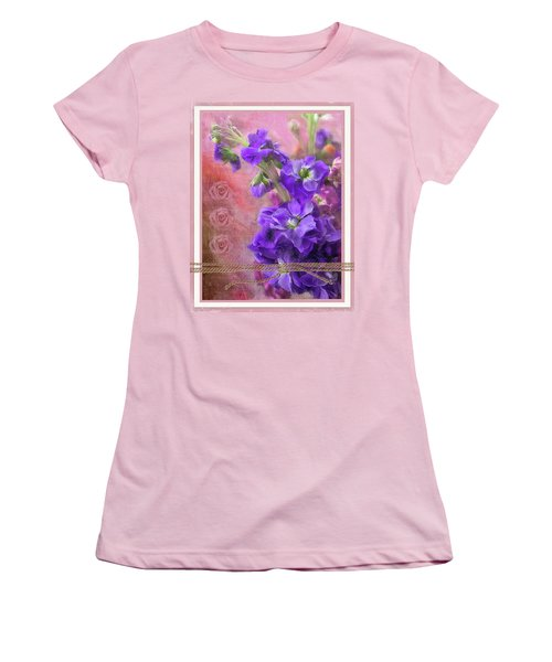 Bouquet Of Hearts Women's T-Shirt (Athletic Fit)