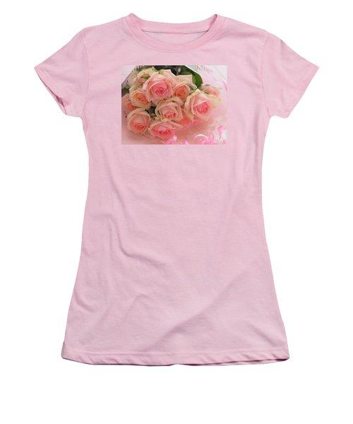 Bouquet Of Sweetness Women's T-Shirt (Junior Cut) by Rachel Mirror