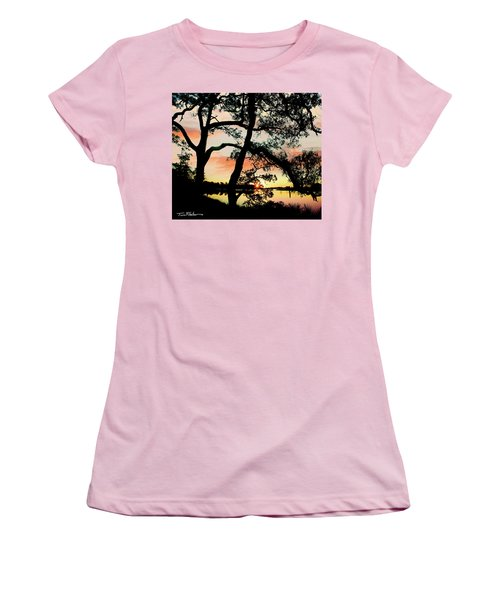 Break Of Dawn Women's T-Shirt (Junior Cut) by Tim Fitzharris