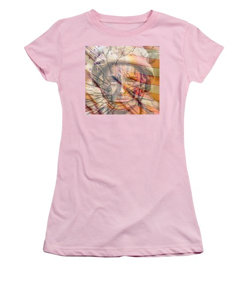 Breaking The Glass Ceiling Women's T-Shirt (Junior Cut) by Mary Ward