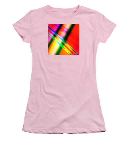 Bright Lines Women's T-Shirt (Athletic Fit)