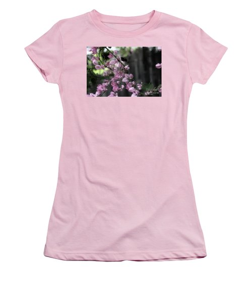 Women's T-Shirt (Athletic Fit) featuring the photograph Bumble by Megan Dirsa-DuBois