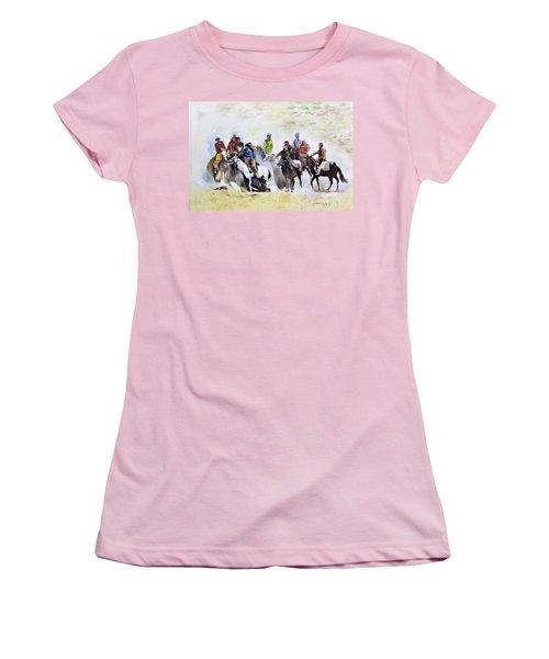 Buzkashi Sport Women's T-Shirt (Athletic Fit)
