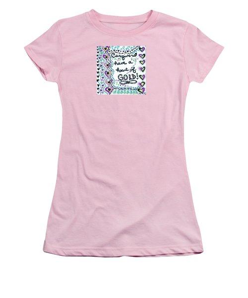 Caregiver Joy Women's T-Shirt (Athletic Fit)