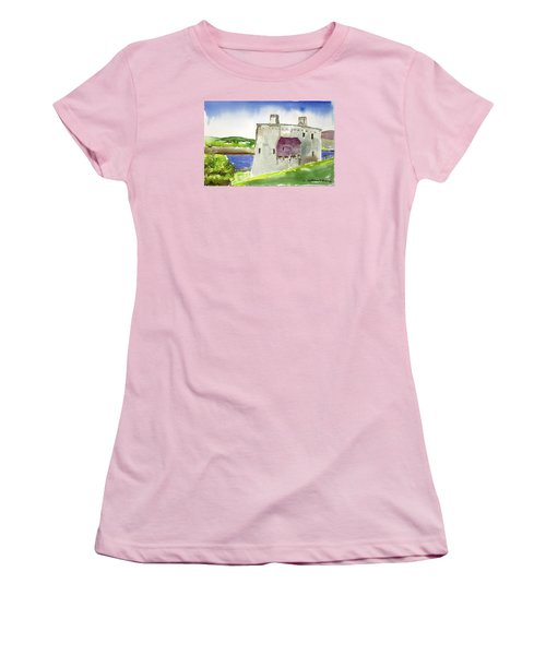Castle From The Hill Women's T-Shirt (Athletic Fit)