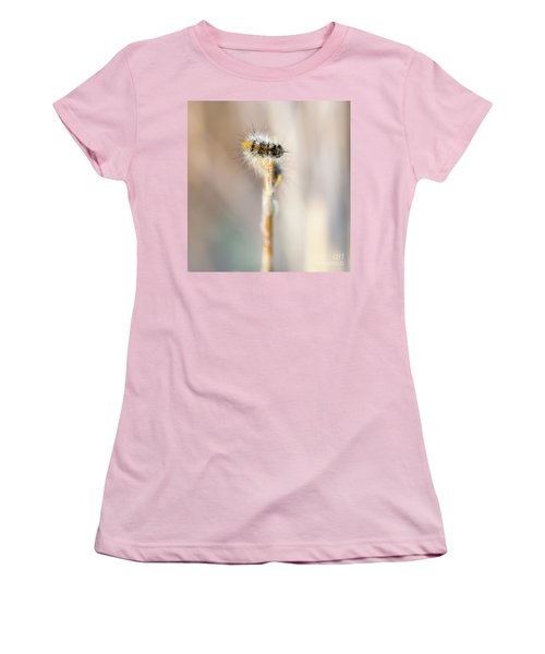 Caterpillar On The Stick Women's T-Shirt (Athletic Fit)