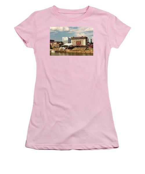 Charleston West Virginia Women's T-Shirt (Junior Cut) by L O C
