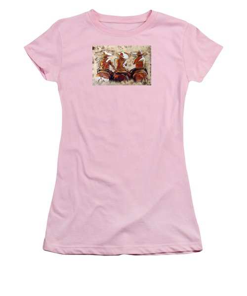 Charros Women's T-Shirt (Junior Cut) by J- J- Espinoza