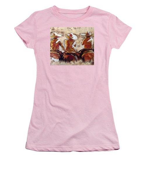 3 . C H A R R O  . F R I E N D S Women's T-Shirt (Athletic Fit)