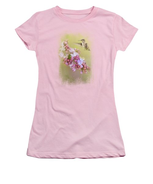 Chasing Lilacs Women's T-Shirt (Athletic Fit)