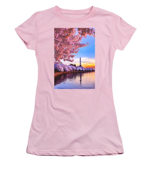 Cherry Blossom Festival  Women's T-Shirt (Athletic Fit)