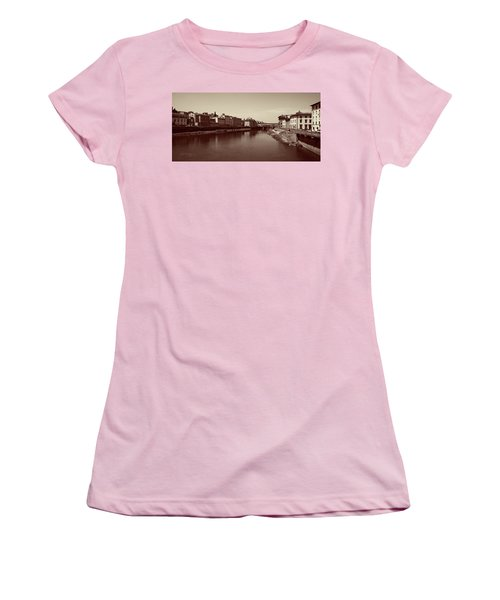 Chocolate Florence Women's T-Shirt (Junior Cut) by Joseph Westrupp