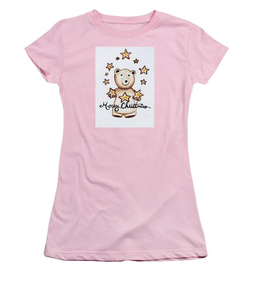 Christmas Stars Women's T-Shirt (Athletic Fit)