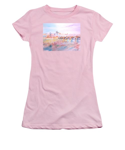 City Of Prague Women's T-Shirt (Athletic Fit)