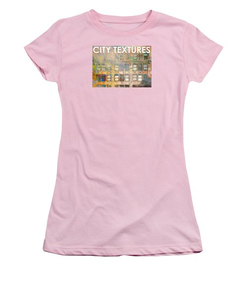 City Textures Windows Women's T-Shirt (Athletic Fit)