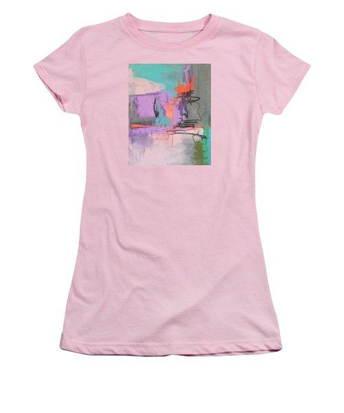 Class Play Women's T-Shirt (Junior Cut) by Becky Chappell
