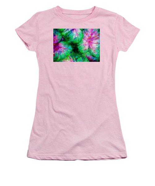Women's T-Shirt (Junior Cut) featuring the photograph Coleus by Paul Wear