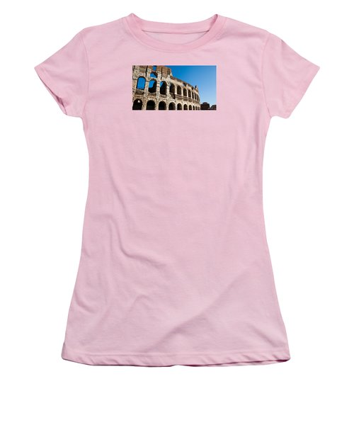 Colosseum - Old And New Women's T-Shirt (Junior Cut) by Ed Cilley