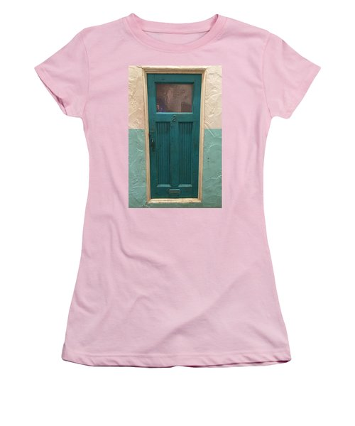 Come In And Chat Women's T-Shirt (Junior Cut) by Peggy Stokes