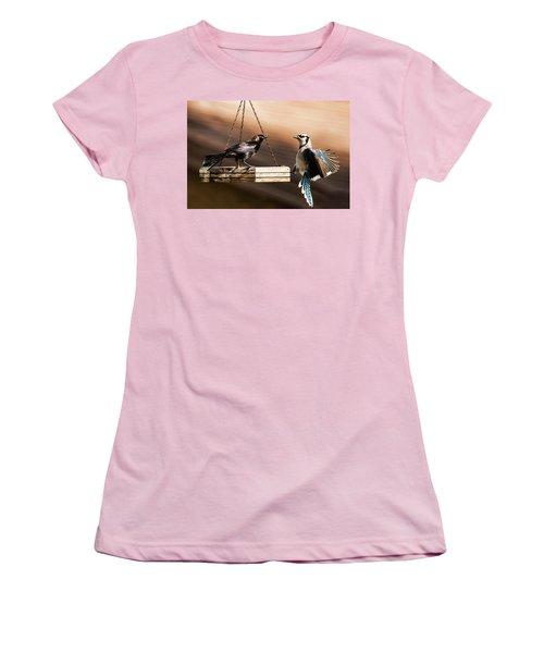 Confrontation Women's T-Shirt (Athletic Fit)