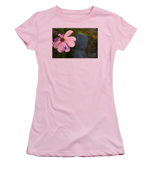 Women's T-Shirt (Junior Cut) featuring the photograph Contemplating The Cosmo by Brian Boyle