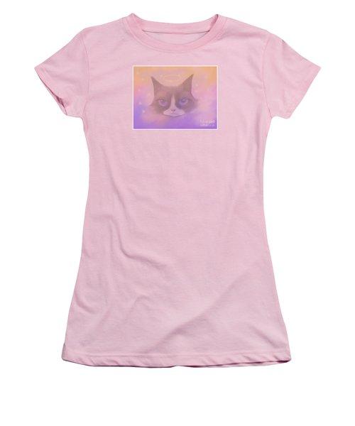 Cosmic Cat Women's T-Shirt (Athletic Fit)