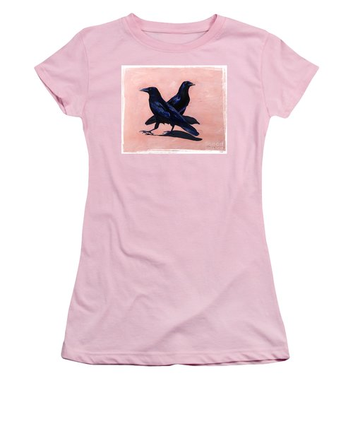 Crows Women's T-Shirt (Athletic Fit)