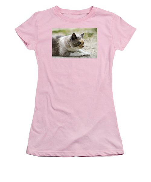 Women's T-Shirt (Junior Cut) featuring the photograph Danni Girl 2 by Teresa Zieba