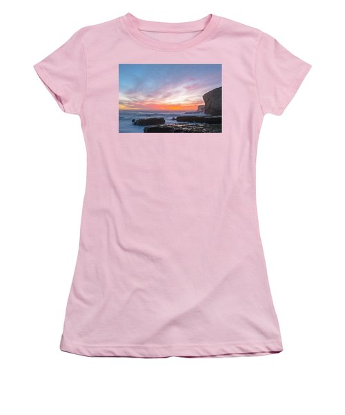 Women's T-Shirt (Junior Cut) featuring the photograph Dawn by Catherine Lau