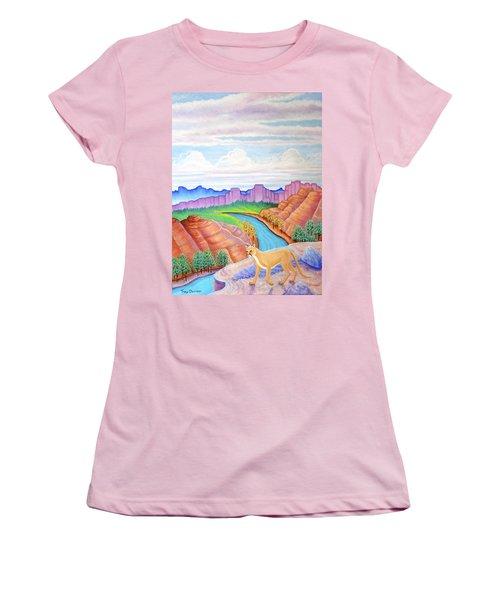 Dawn Patrol Women's T-Shirt (Junior Cut) by Tracy Dennison